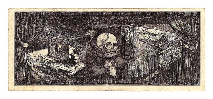 """Manuscrits : """"Ou est le Dieu... ? """" Memento_mori"""